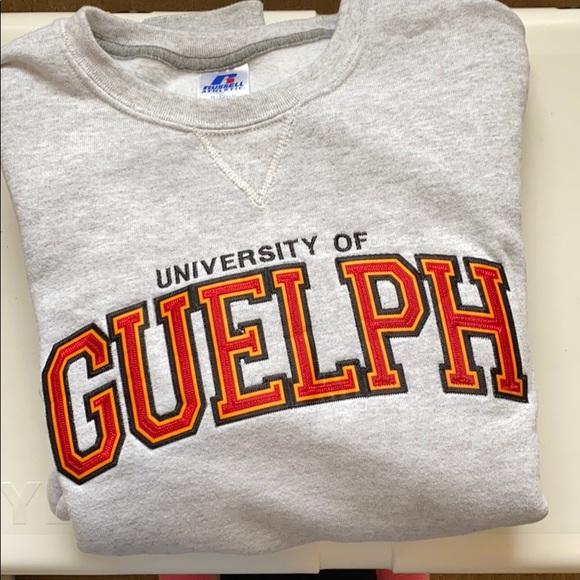 University of Guelph crew neck